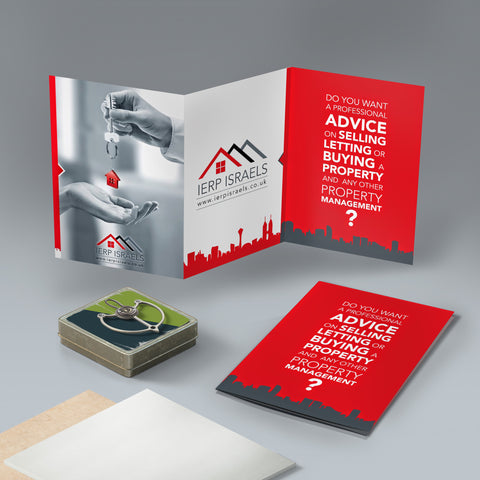 A6 6pp 350gsm flyers (Folded)