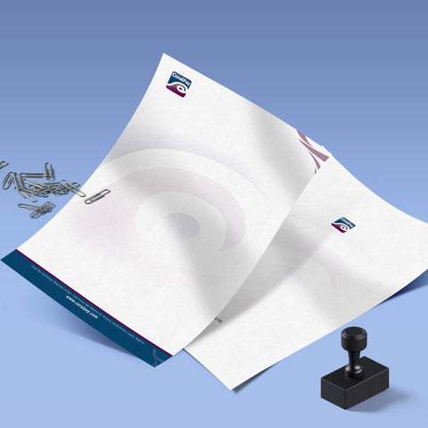 Letterheads (120gsm 100% Recycled)