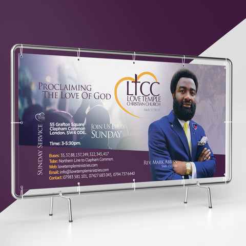 PVC Banners - 550gsm