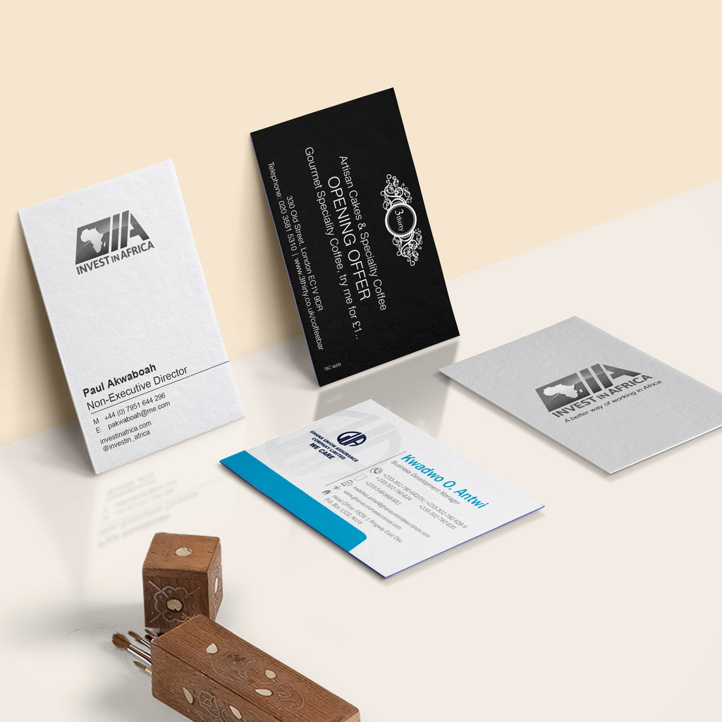 Multi Name Business Cards 3 Sets