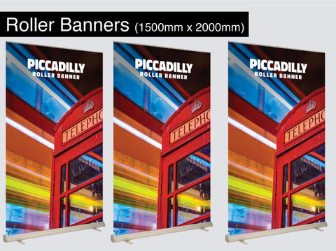 Roller Banners 1500mm x 2000mm