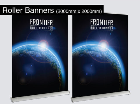 Roller Banners 2000mm x 2000mm