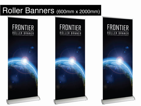 Roller Banners 600mm x 2000mm
