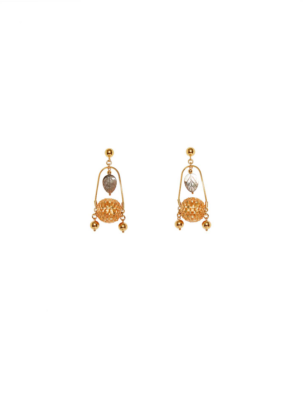 Bena Raffia Earrings