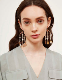 Clara Fringe Earrings