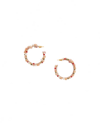 Coral C Earrings