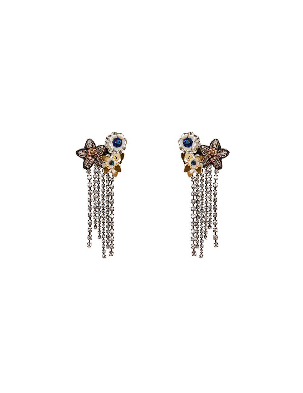 Flor Fringe Earrings