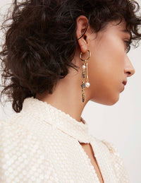 Holly Hoop Earrings