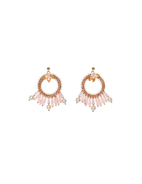 Letita Pink Earrings