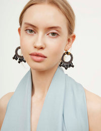 Letita Jet Earrings