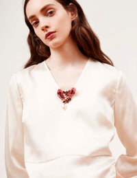 Luana Brooch Necklace