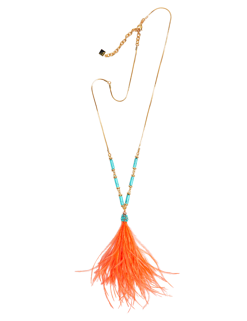 Alma feather pendant