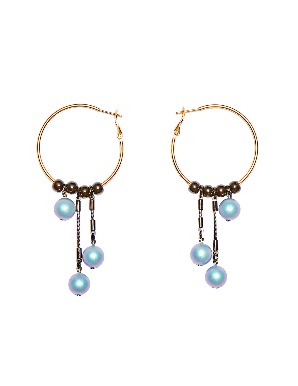 Hani hoop earrings