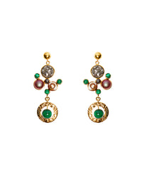 Marce Daisy earrings (clip)