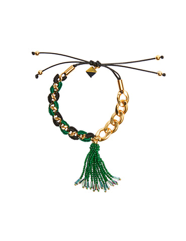 Malachite friendship bracelet