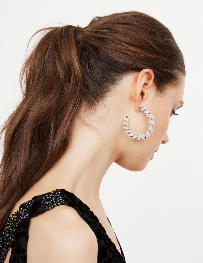 Awasa hoop earrings