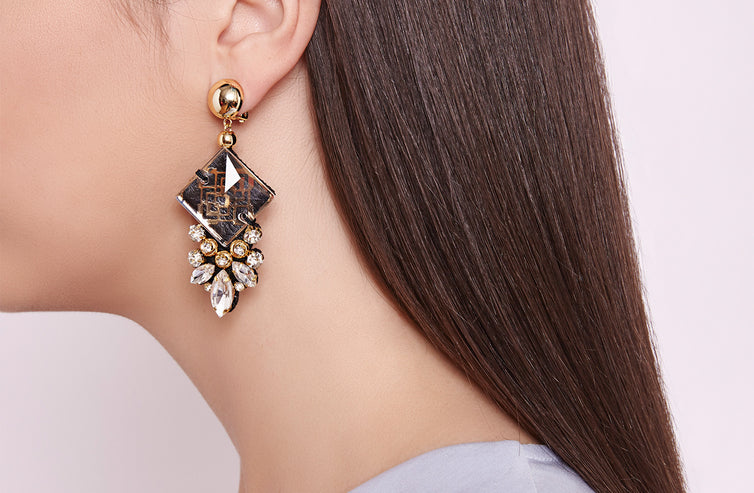 Bora Earrings (clip)