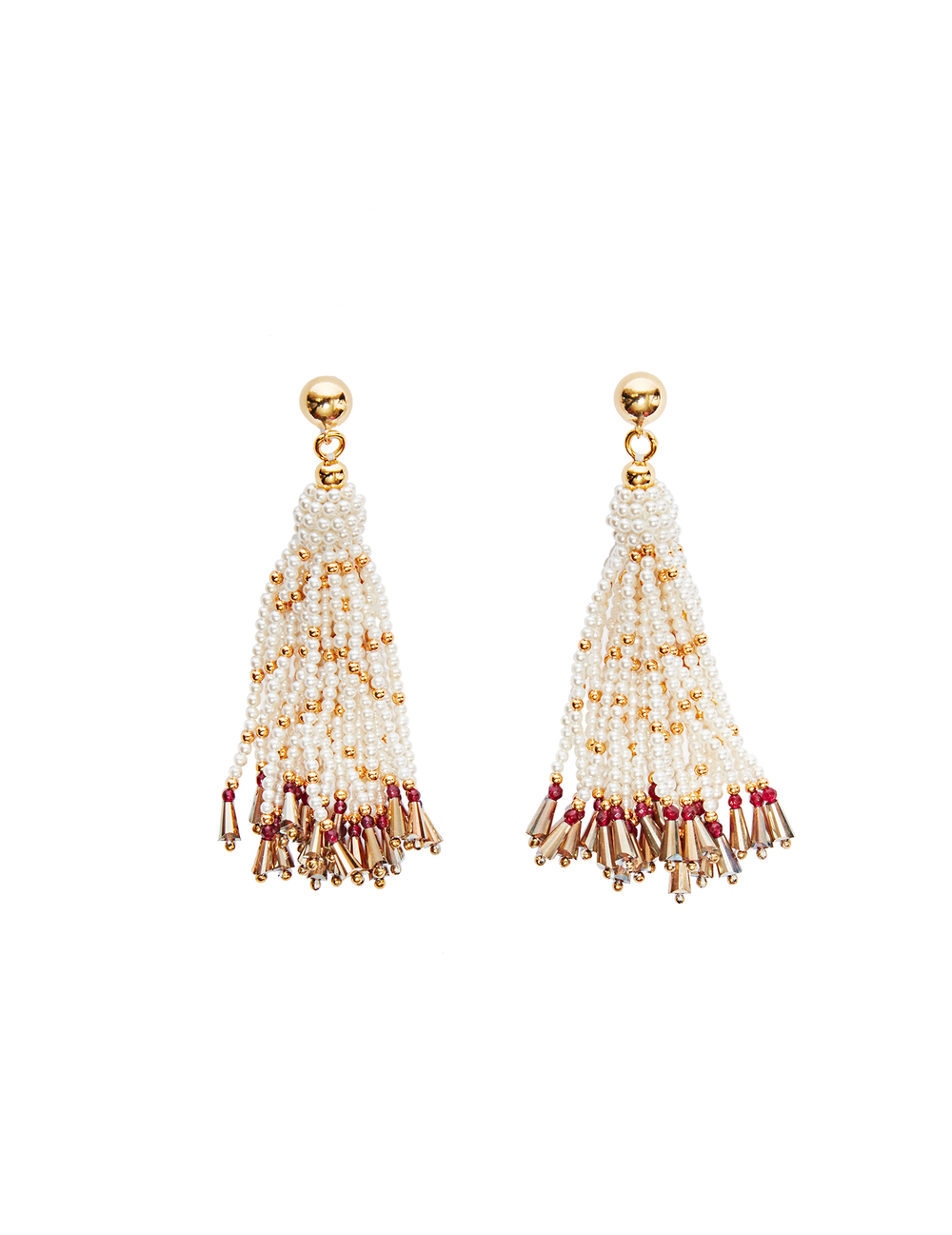 Avenn fringe earrings (stud)