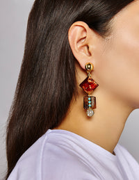 Jenna Amber earrings