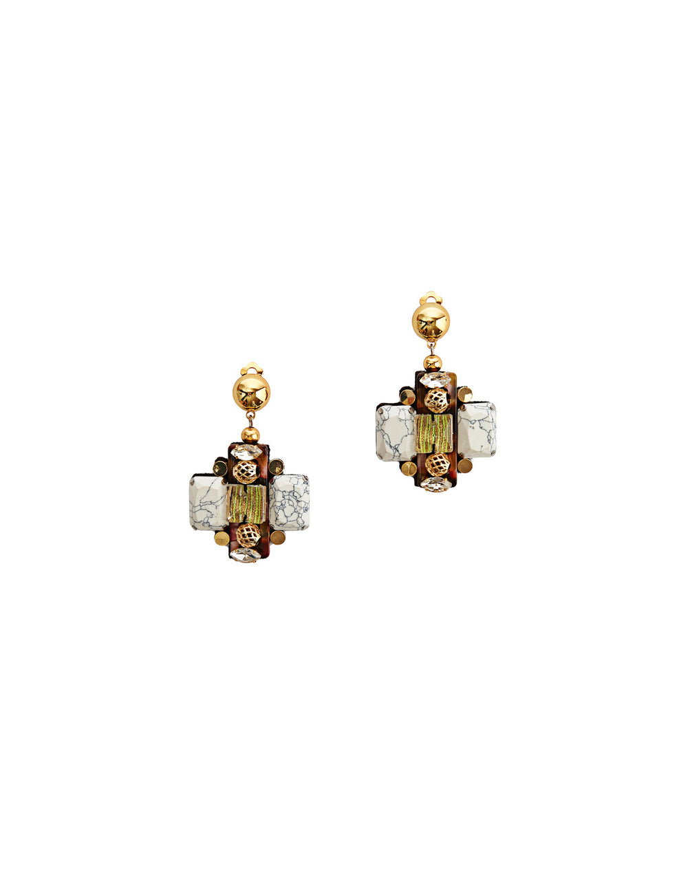 Sam earrings (post)