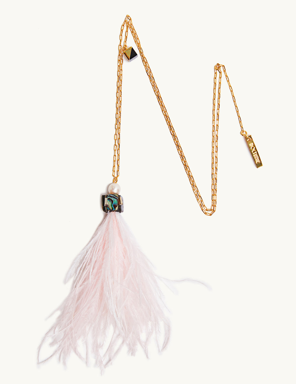 Bell Feather pendant