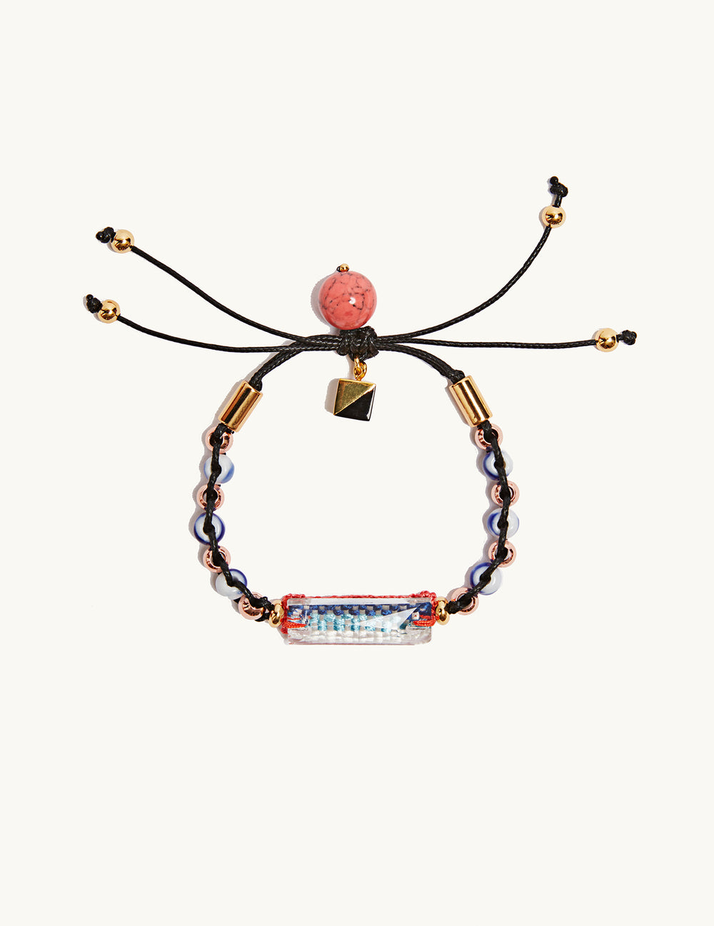 Bluebell friendship bracelet