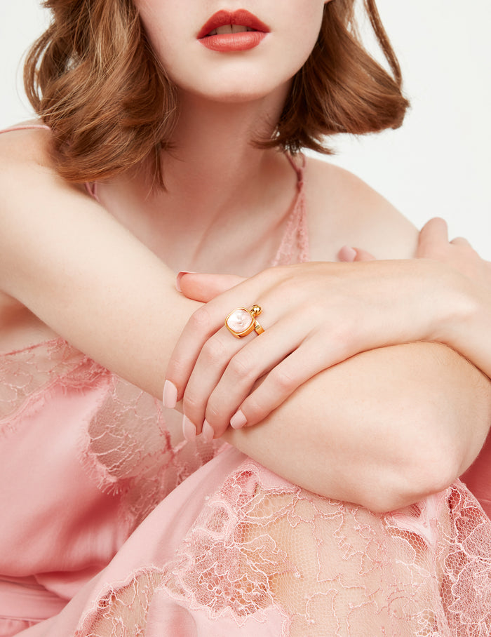 Tilly pink ring