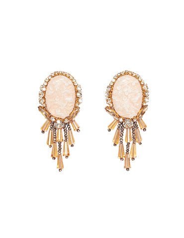 Tao chandelier earrings