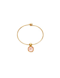 Tilly pink metal bracelet