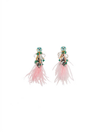 Pia Feather Earrings