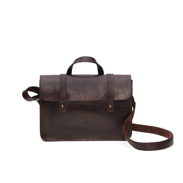 Dark Brown Mini Satchel