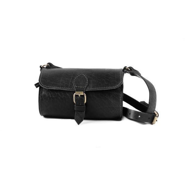 Pixie Barrel Bag - Black-ISMAD LONDON