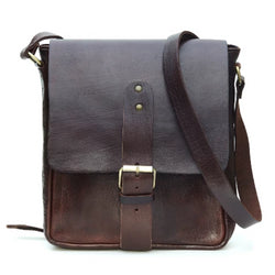 Billy Reporter Bag - Chocolate | ISMAD LONDON
