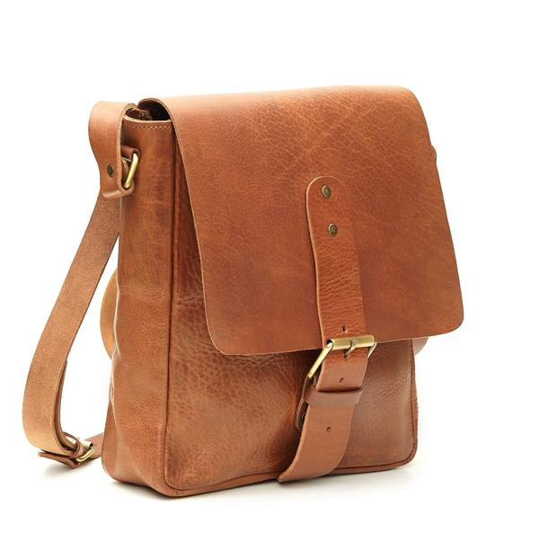 Billy Reporter Bag - Tan | ISMAD LONDON