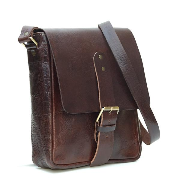 Billy Reporter Bag - Chocolate
