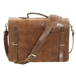 Camden Loop Briefcase -Tan