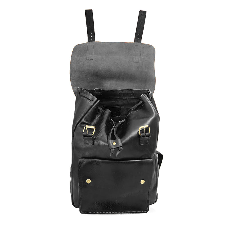 Charlie Backpack - Black-ISMAD LONDON