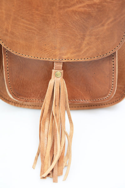 Sam Tassel Saddle Bag - ismadlondon
