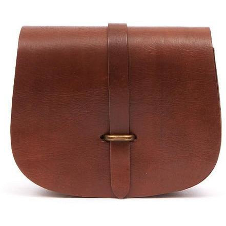 Medium Sam Loop Saddle Bag - Tan