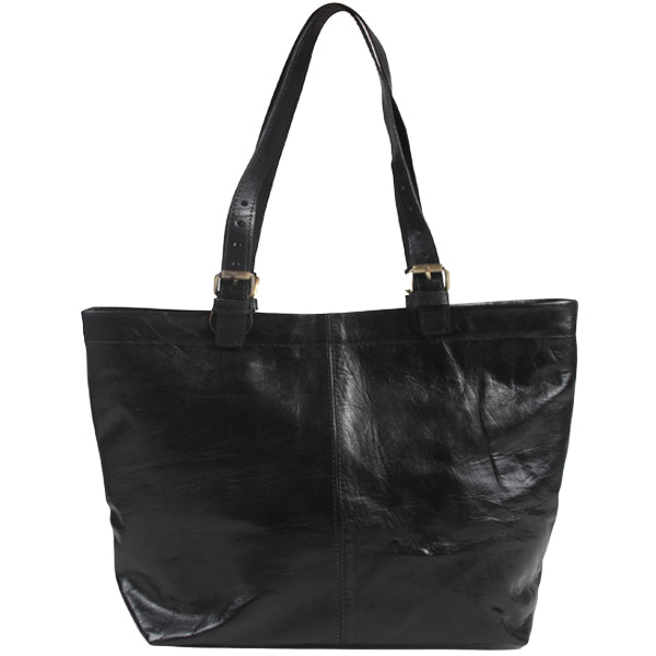 Shopper Tote - Black-ISMAD LONDON