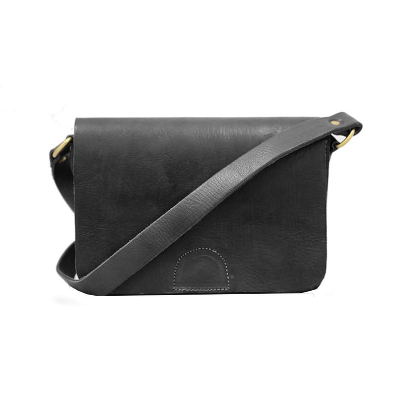 Heidi Crossbody Bag - Black-ISMAD LONDON