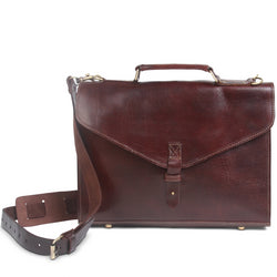 Cambridge Briefcase - Chocolate