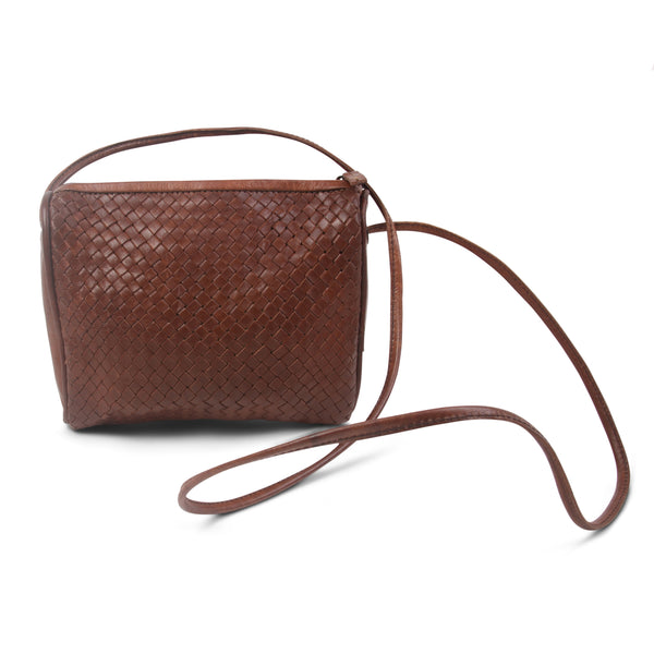 Simone Crossbody - Tan-ISMAD LONDON