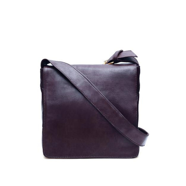 Small Harley Reporter Bag - Chocolate-ISMAD LONDON