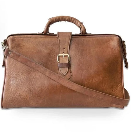 Doctor Bag - Tan-ISMAD LONDON