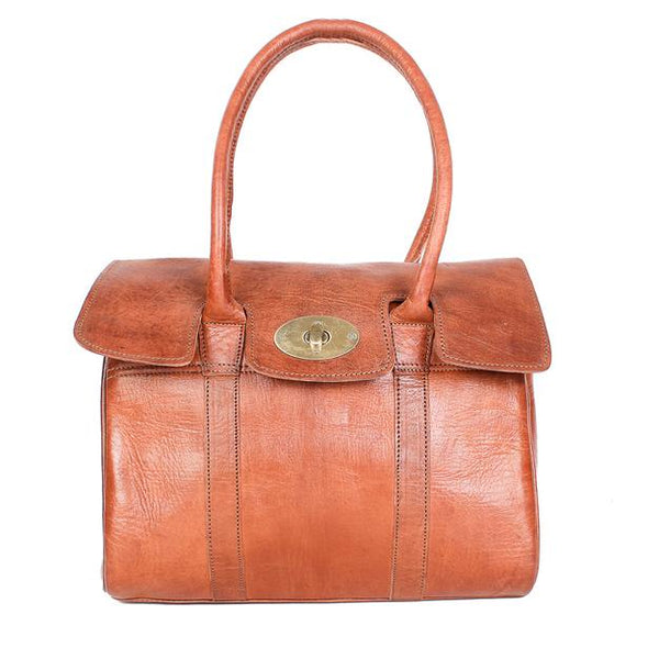 Harriet Handbag - Tan-ISMAD LONDON