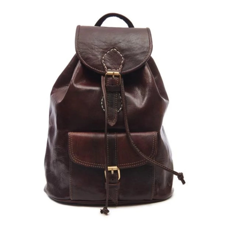 Small Sac a Dos Backpack - Chocolate-ISMAD LONDON