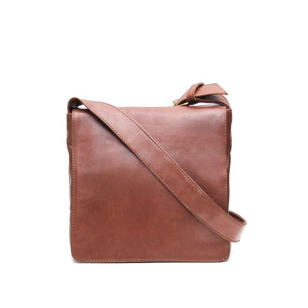 XS Harley Reporter Bag - Tan-ISMAD LONDON