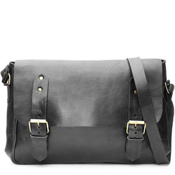 Paul Messenger Bag - Black