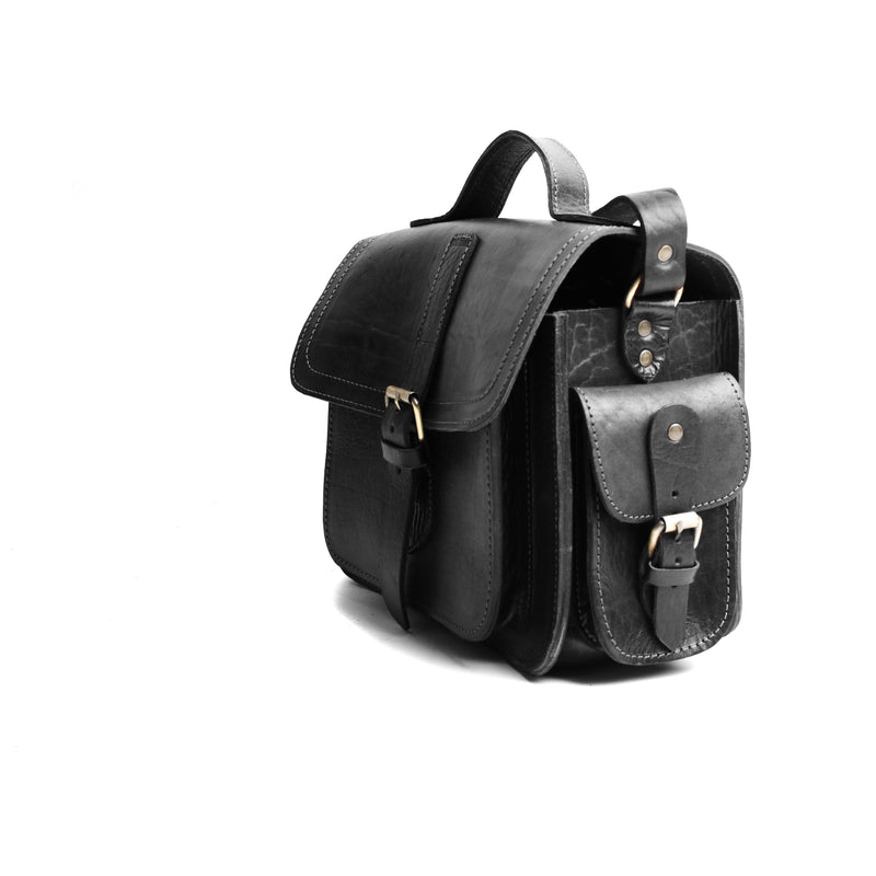 Camera Satchel Bag - Black